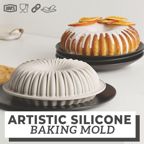 Artistic Silicone Baking Mold outdoorpinata Bundt Pan