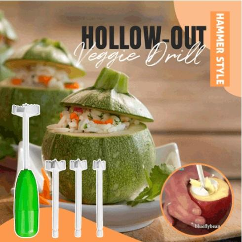 Hammer Style Hollow-Out Veggie Drill outdoorpinata
