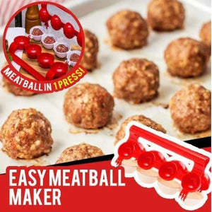 Easy Handheld Meatball Maker