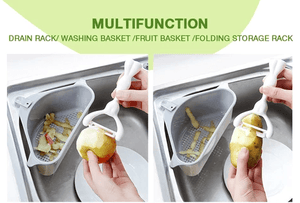 Multifunctional Triangle Strainer