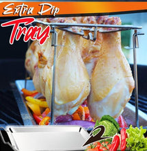 Load image into Gallery viewer, Stainless Steel Grilled Chicken Rack Holder