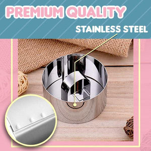 Stainless Steel 3D Mini Cake Molds outdoorpinata