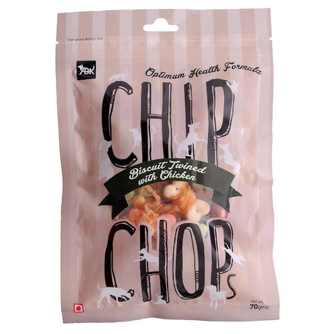 Chip Chops Biscuit Twined with Chicken 70 gms