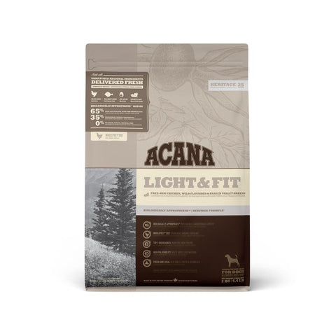 Acana Light & Fit Adult, Dry Dog Food