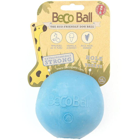 Beco Dog Ball, Hollow Chew Toy for Dogs