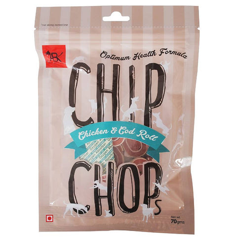 Chip Chops Chicken Cod Roll 70gms