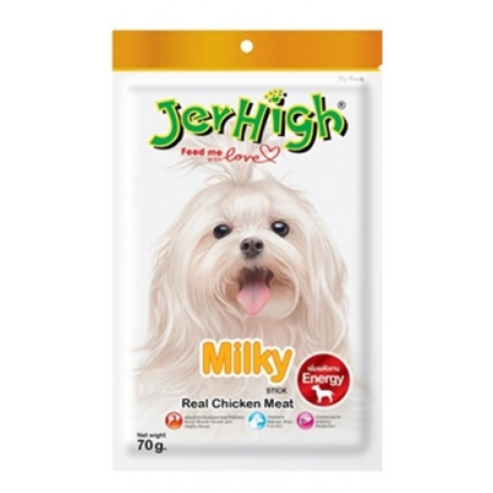 Jerhigh - Milk stix, Treats For Dogs, 70 gms