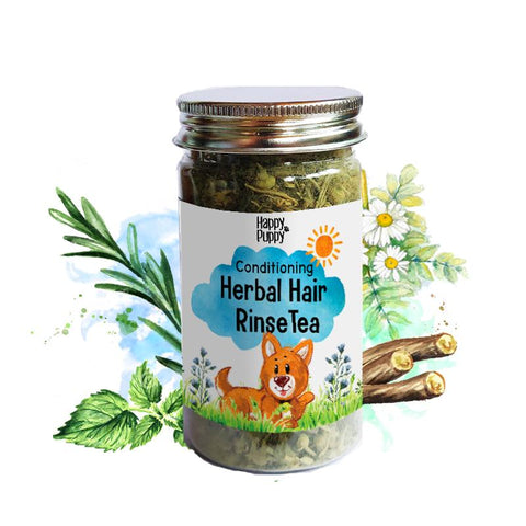 Happy Puppy Herbal Hair Rinse Tea Conditioning 50gms
