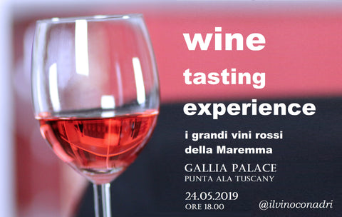 wine tasting at Gallia Palace Punta ala Tuscany