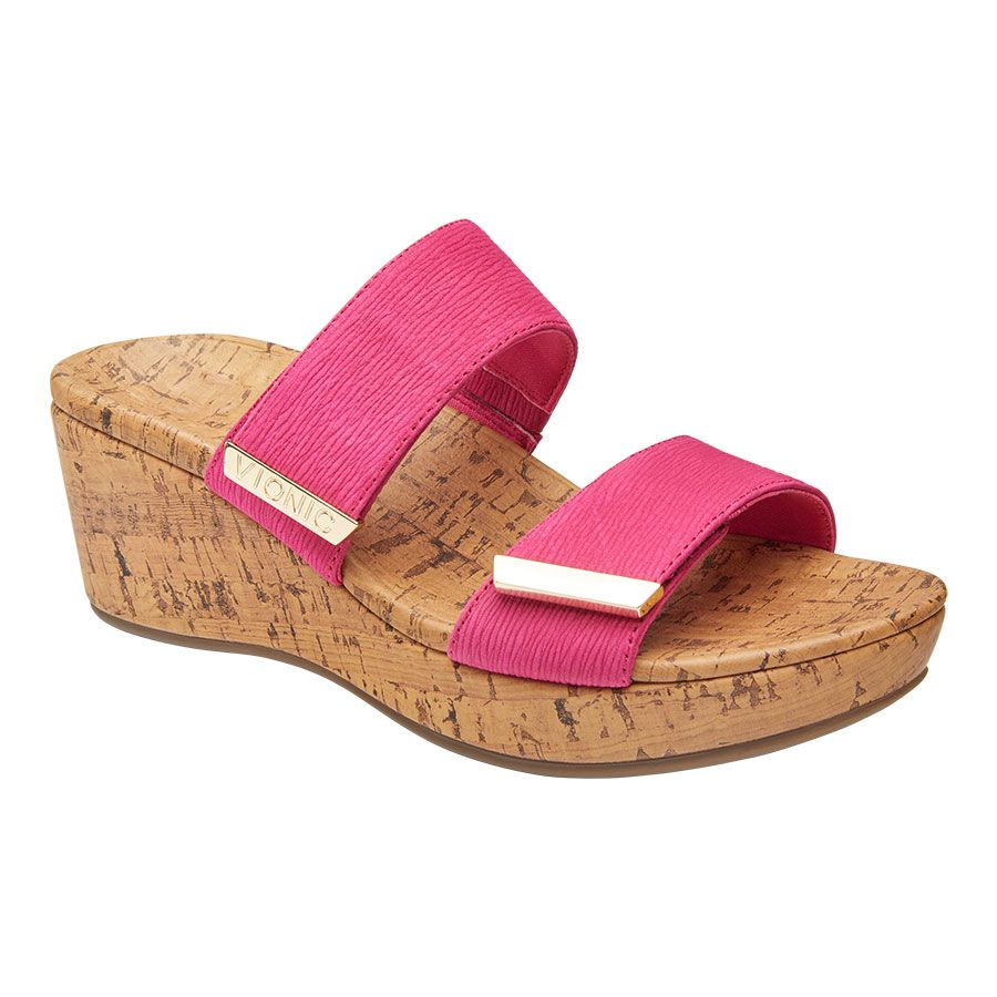 PEPPER RUCHED SLIDE WDG-SORBET