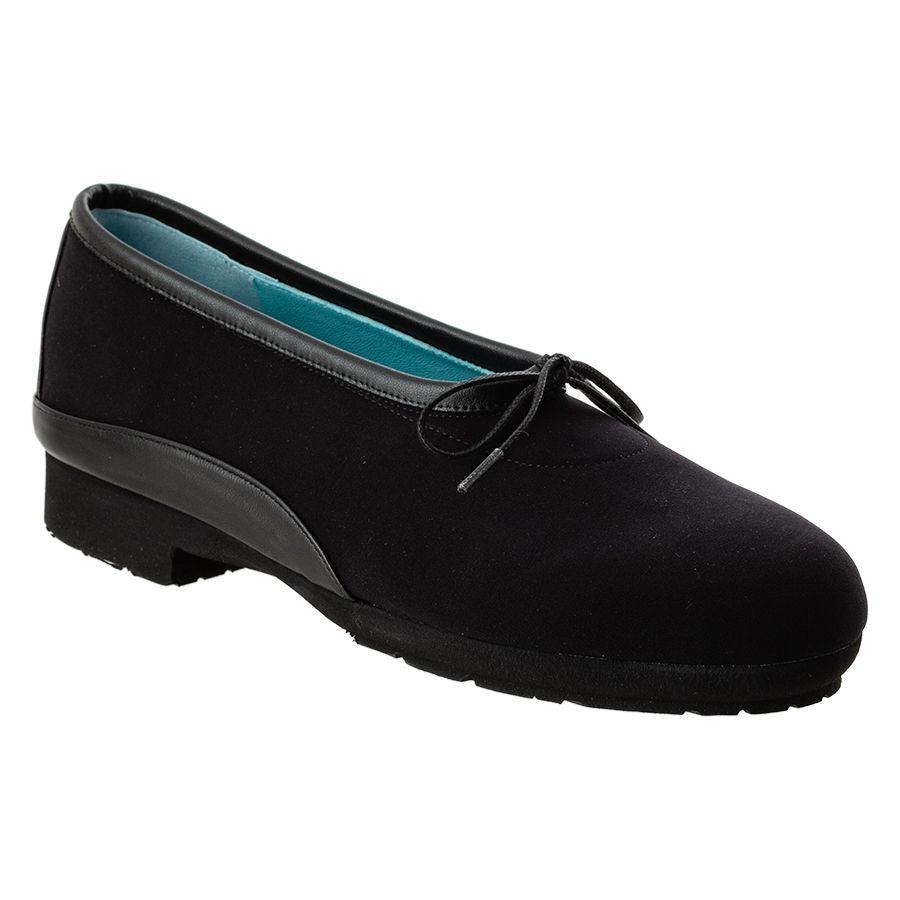 LACEE2-BLACK SOFT SUEDE