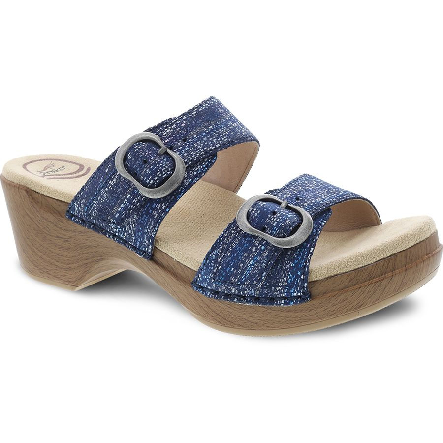 SOPHIE-BLUE METALLIC-SDE