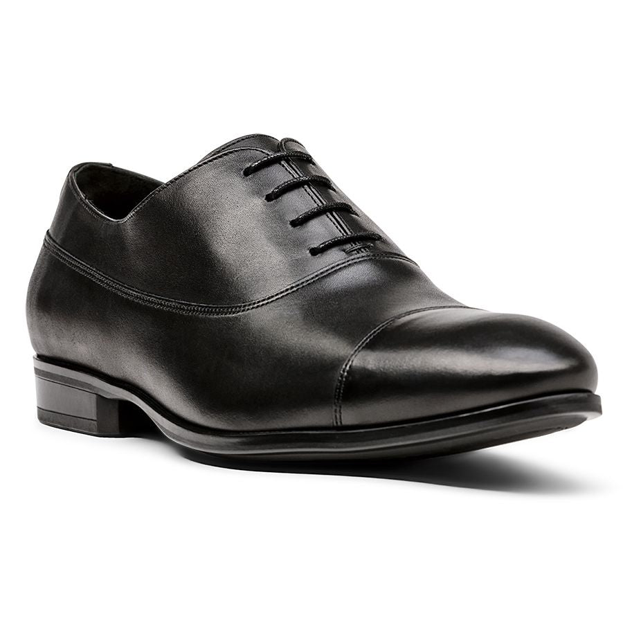 BAILEY CAP TOE-BLACK LTH