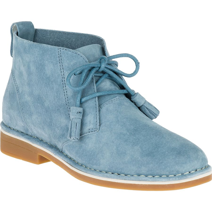 CYRA CATELYN-BLUE-SUEDE