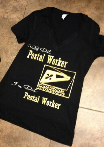 WHO DAT POSTAL WORKER (MEN)