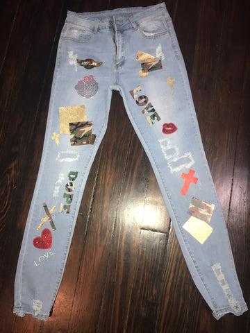 BESTFRIEND JEANS CUSTOMIZED