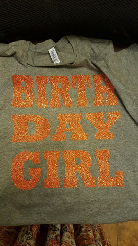 BIRTHDAY GIRL GLITTER