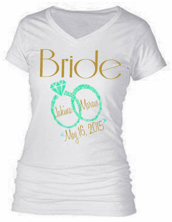 BRIDAL PARTY SHIRTS (BRIDE)