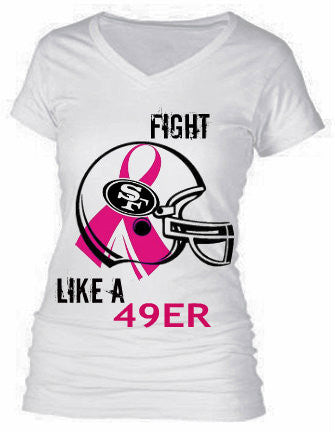 FIGHT LIKE A 49ER