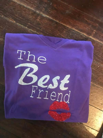 FRIEND SHIRT GLITTER
