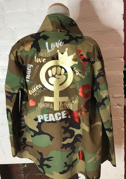 CAMOUFLAGE Patchwork JACKET