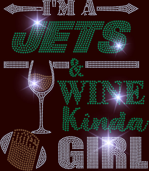 TRANSFERS JETS AND WINE KINDA GIRL