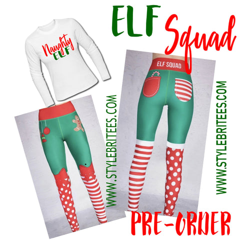 NAUGHTY ELF SQUAD SET