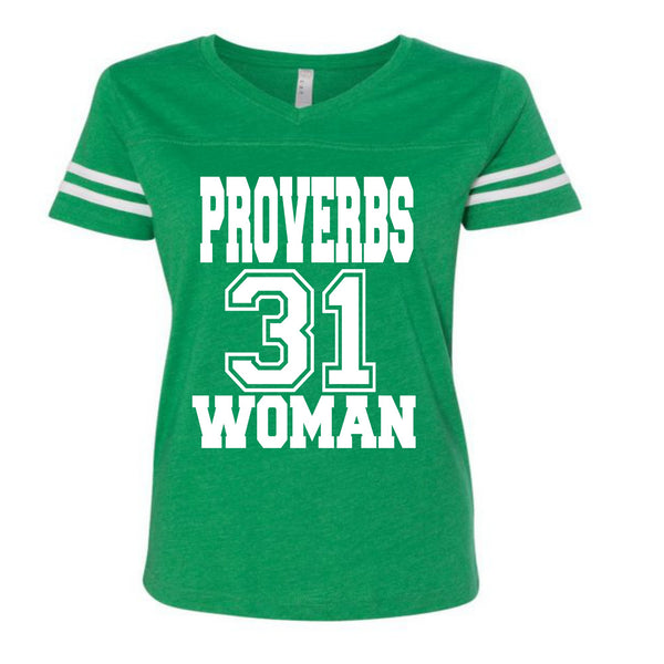 PROVERBS 31 Woman Jersey