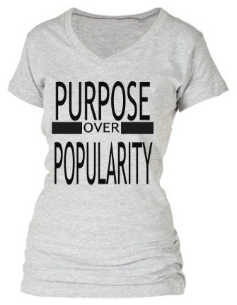 PURPOSE OVER POPULARITY