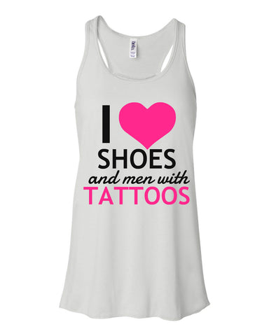 I LOVE SHOES and men with TATTOOS