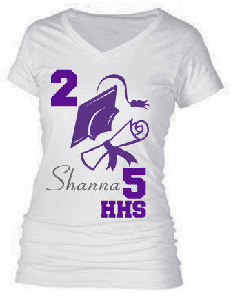 GRADUATION TEE (CUSTOMIZABLE)