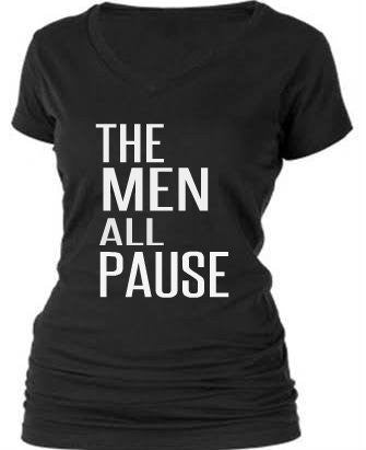 THE MEN ALL PAUSE