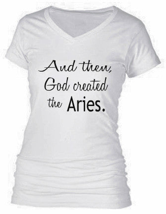 AND THEN, GOD CREATED THE ARIES.