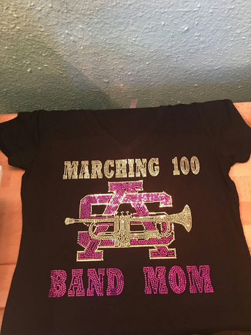 BAND MOM BLING