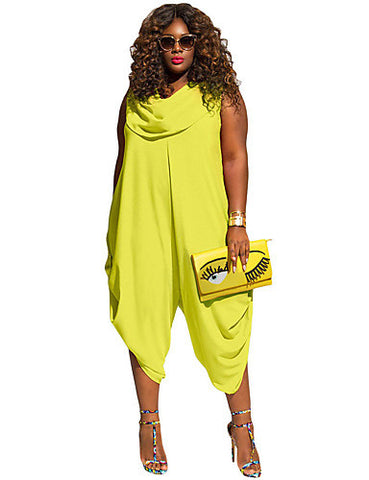 LIZZIE PLUS SIZE JUMPSUIT