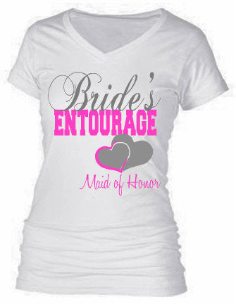 BRIDAL PARTY SHIRTS  2 (BRIDESMAID)