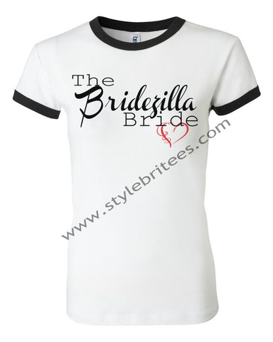 THE BRIDEZILLA BRIDE