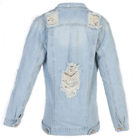 CUSTOMIZE DENIM  Patchwork JACKET