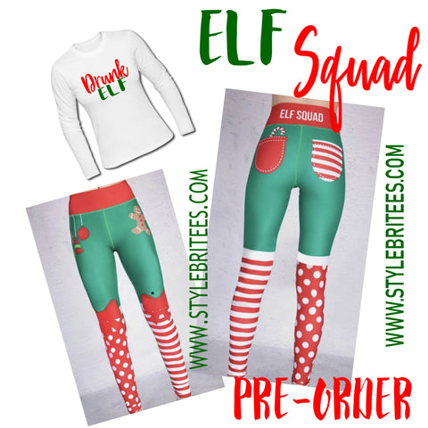 DRUNK ELF SQUAD SET