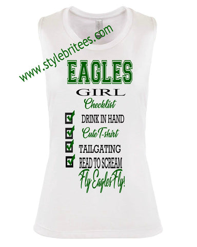 EAGLES GIRL CHECKLIST