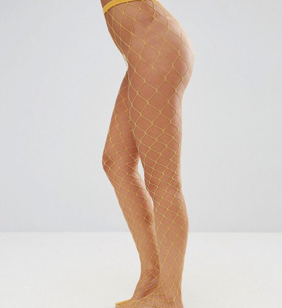 MARDI GRAS FISHNET STOCKINGS
