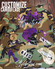 CUSTOMIZE CAMOUFLAGE BLING Patchwork JACKET
