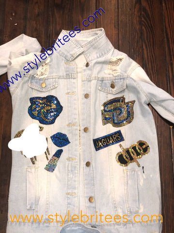 SOUTHERN JAGS DENIM  Patchwork JACKET
