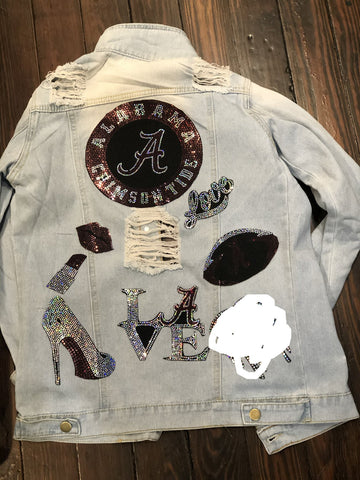 ALABAMA DENIM  Patchwork JACKET