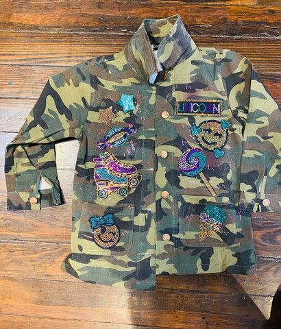 UNICORN PATCHWORK JACKET KIDS