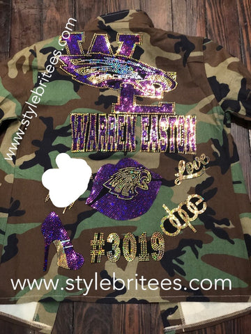 WARREN EASTON CAMOUFLAGE JACKETS