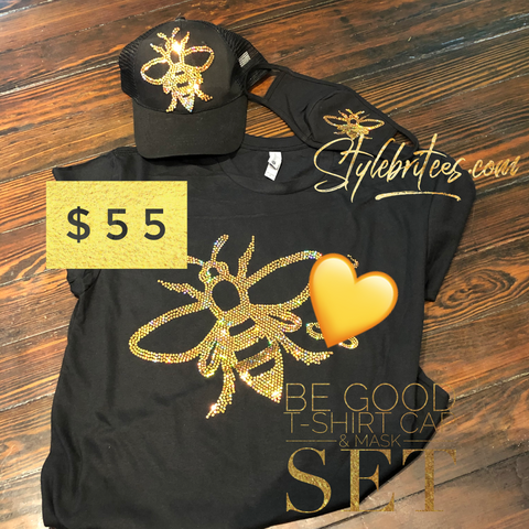 Be Good CAP MASK & T-SHIRT SET