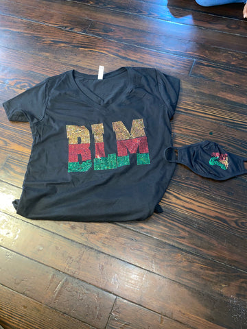 BLM BLING T-SHIRT