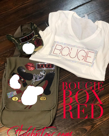 BOUGIE BOX RED