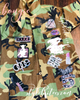 Bougie Camouflage  Patchwork Jacket